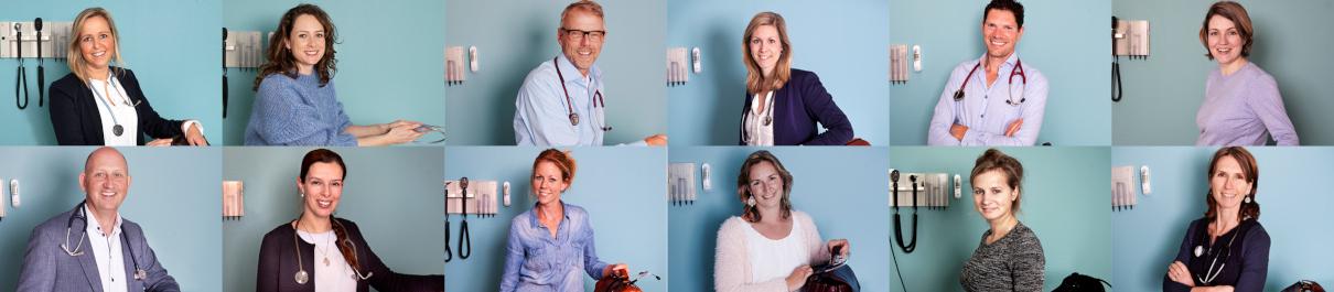 Teamfoto Huisartsenpraktijk Vathorst